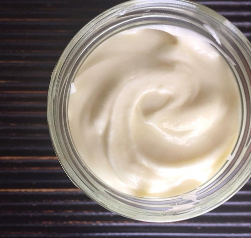 natural moisturising body butter. vegan cruelty free