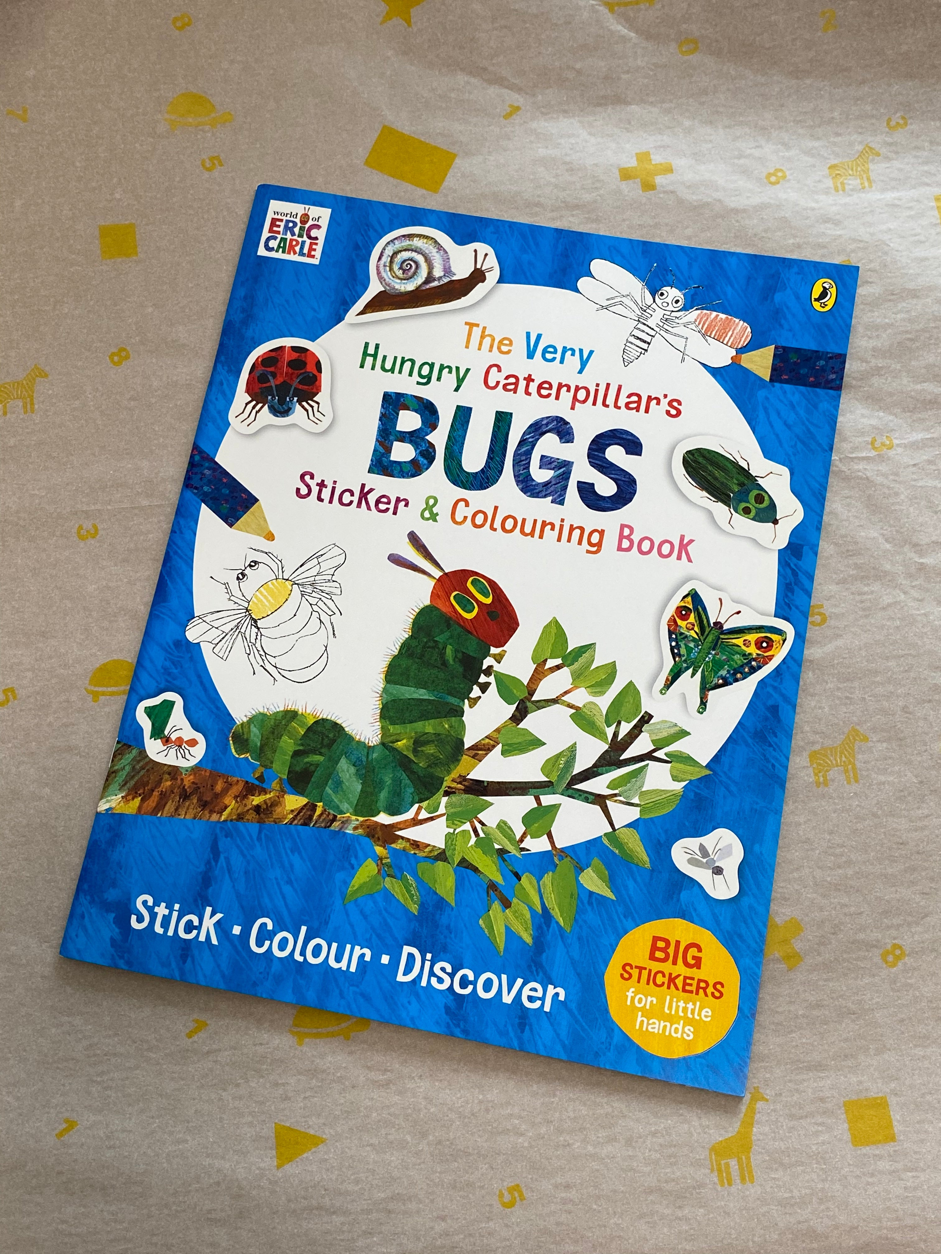 The Very Hungry Caterpillar's BUGS Sticker & Colouring Book