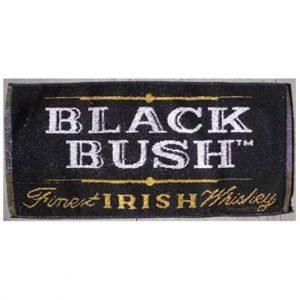 Black Bush Bar Towel