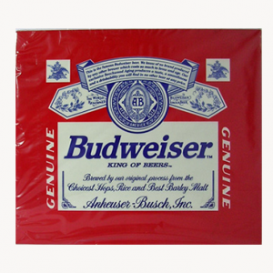 Budweiser Metal Sign