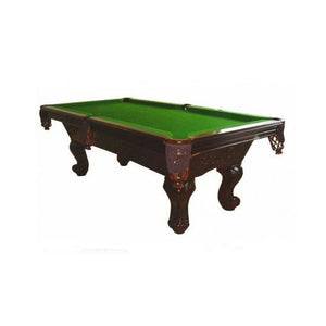 Carved Leg American Pool table