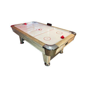 Deluxe Driftwood Air Hockey Table