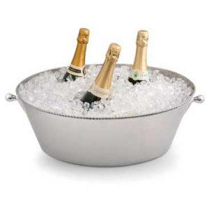 Ghiaccio Wine/Champagne Cooler, Polished Finish