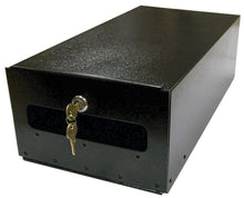 Load image into Gallery viewer, Keystone fleur de lis mailbox black locking insert