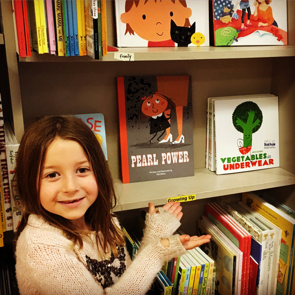 Pearl and Pearl Power in Book People