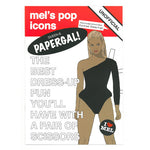 Beyoncé paper Doll Book front cover - paper doll activity book by Mel Elliott