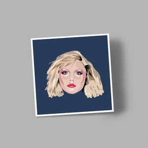 'DEBBIE' blank greetings card