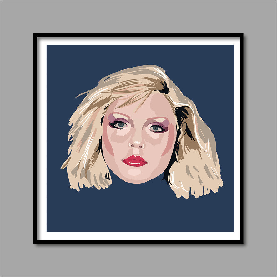 'DEBBIE FOREVER' hand-finished digital print
