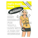 Debbie Harry paper Doll Book front cover.