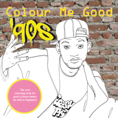COLOUR ME GOOD '90s colouring book