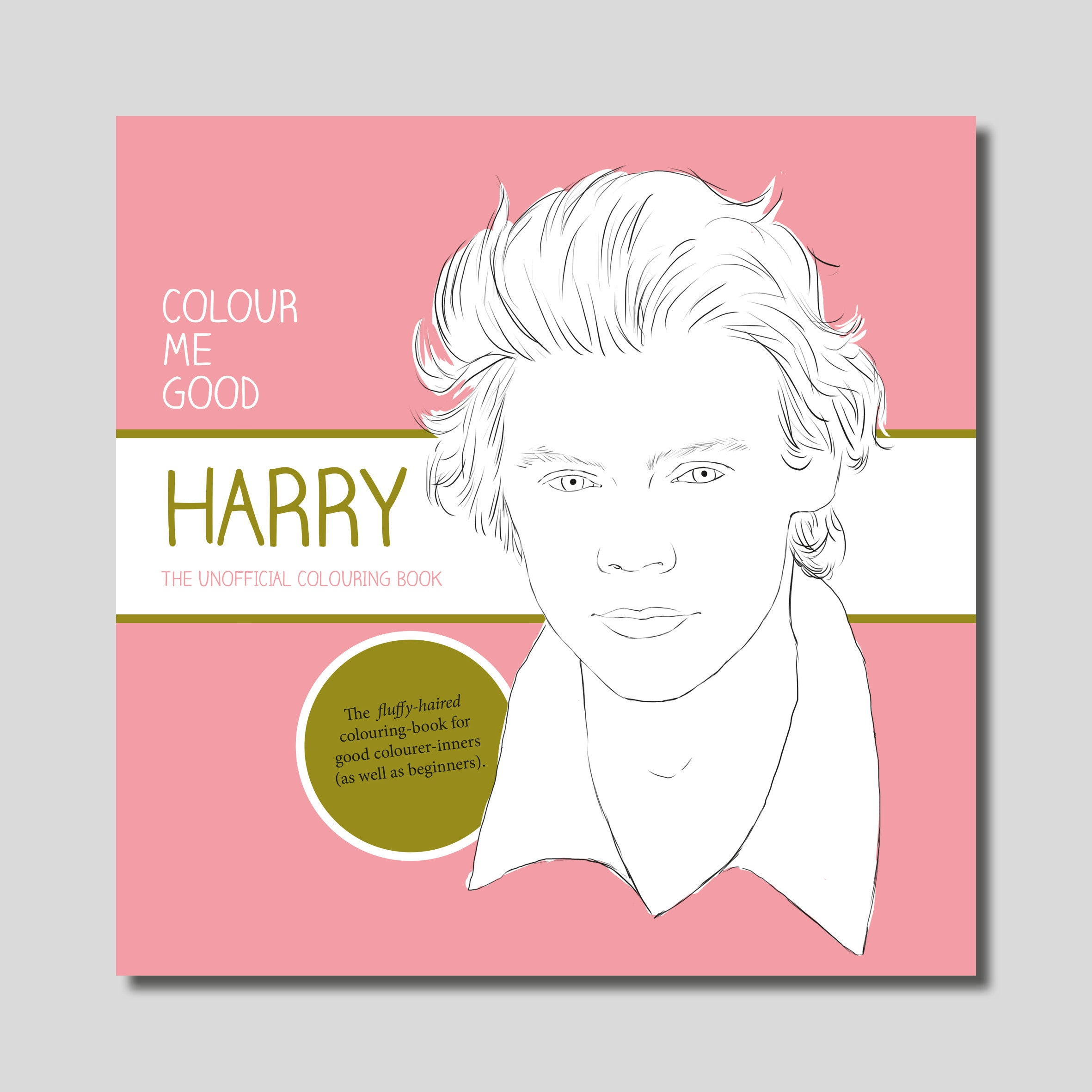 COLOUR ME GOOD HARRY colouring book
