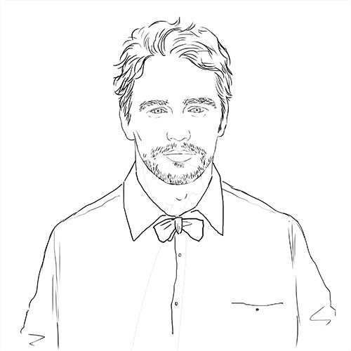 James Franco Colouring Book with 16 colouring pages and