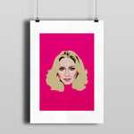 'MADONNA' signed print (A3)