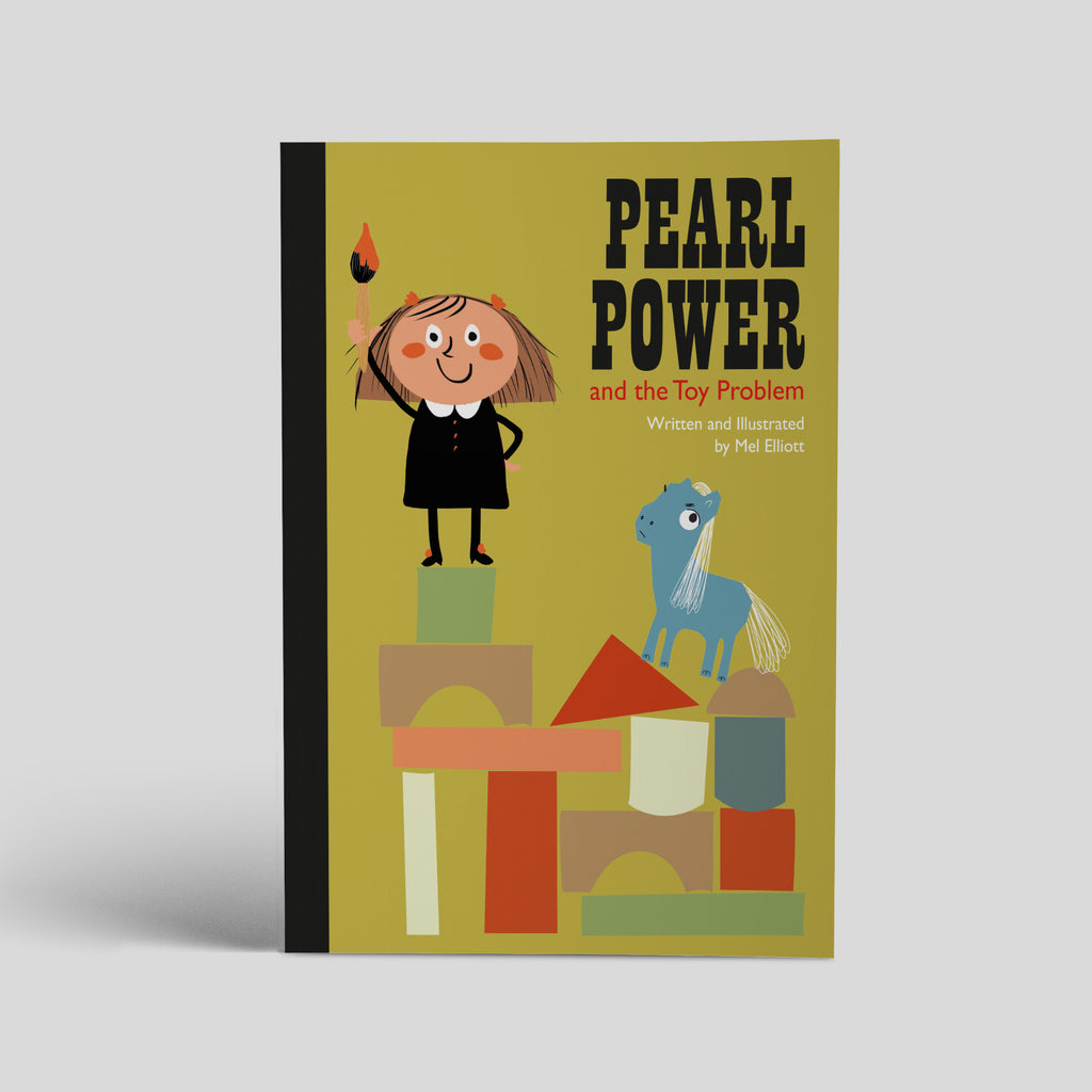 PEARL POWER AND THE TOY PROBLEM picture story book