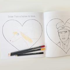 Tom Hiddleston colouring page, Tom Hiddleston War Horse, Tom Hiddleston Captain Nicholls