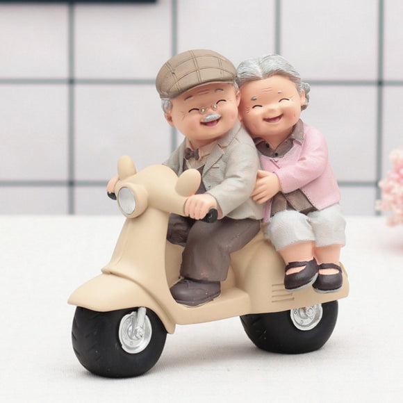 Grandparents Model Ornament Creative Sweety Lovers Couple Ornaments Modern Home Decoration Living Room For Gift  ZM904