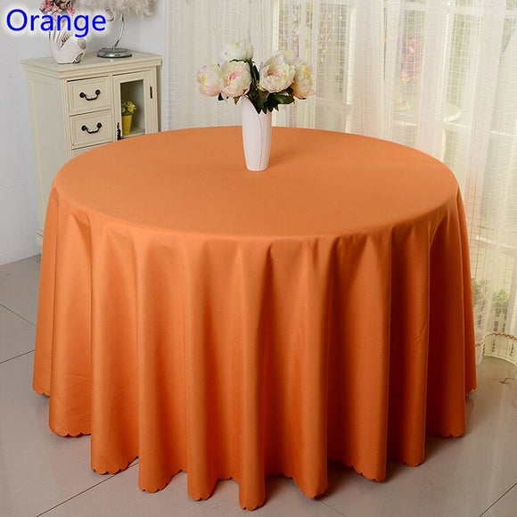 23 Colours Wedding Table Cloth Table Cover Table Linen Round Decoration Banquet Hotel Show Party Water Proof