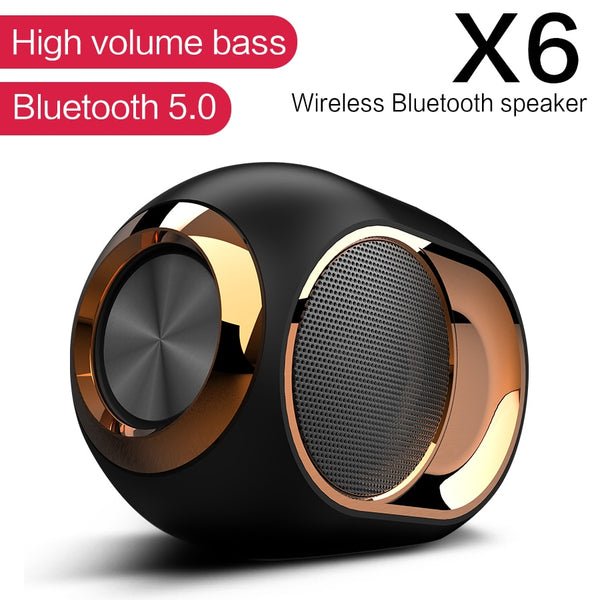 Haut-Parleur Super Bass Portable Sans fil TWS X6 Bluetooth