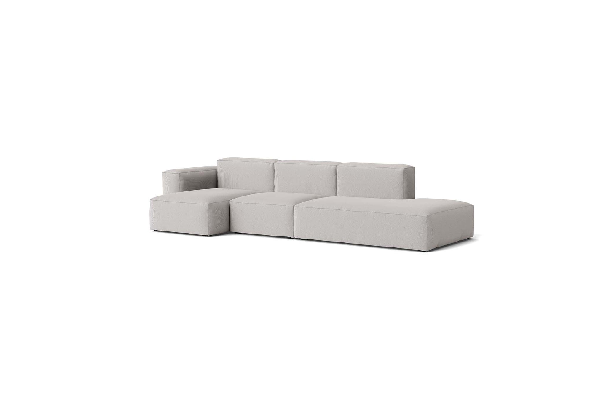 HAY - Mags Soft Low Sofa - 3 Seater - Combination 3 with Left Low Armrest