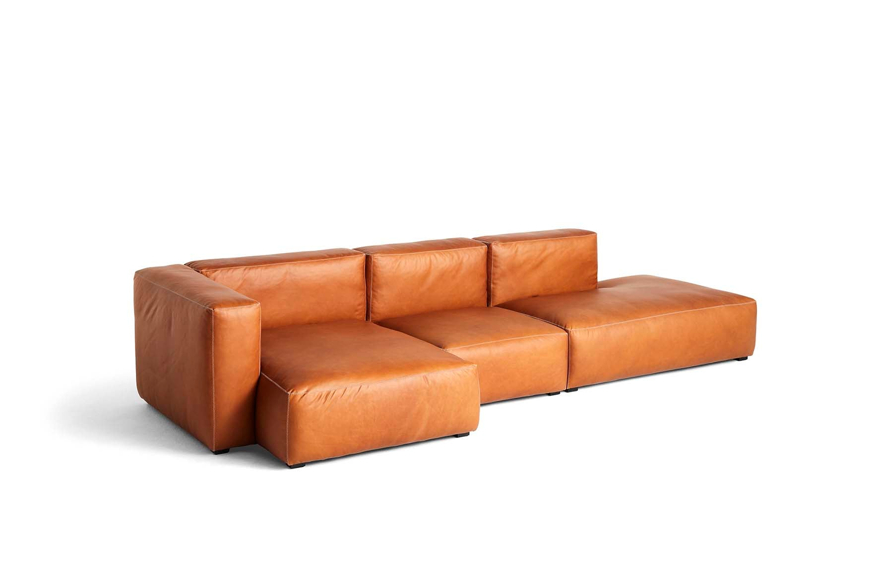 HAY - Mags Soft Sofa - 3 Seater - Combination 4 with Left Armrest