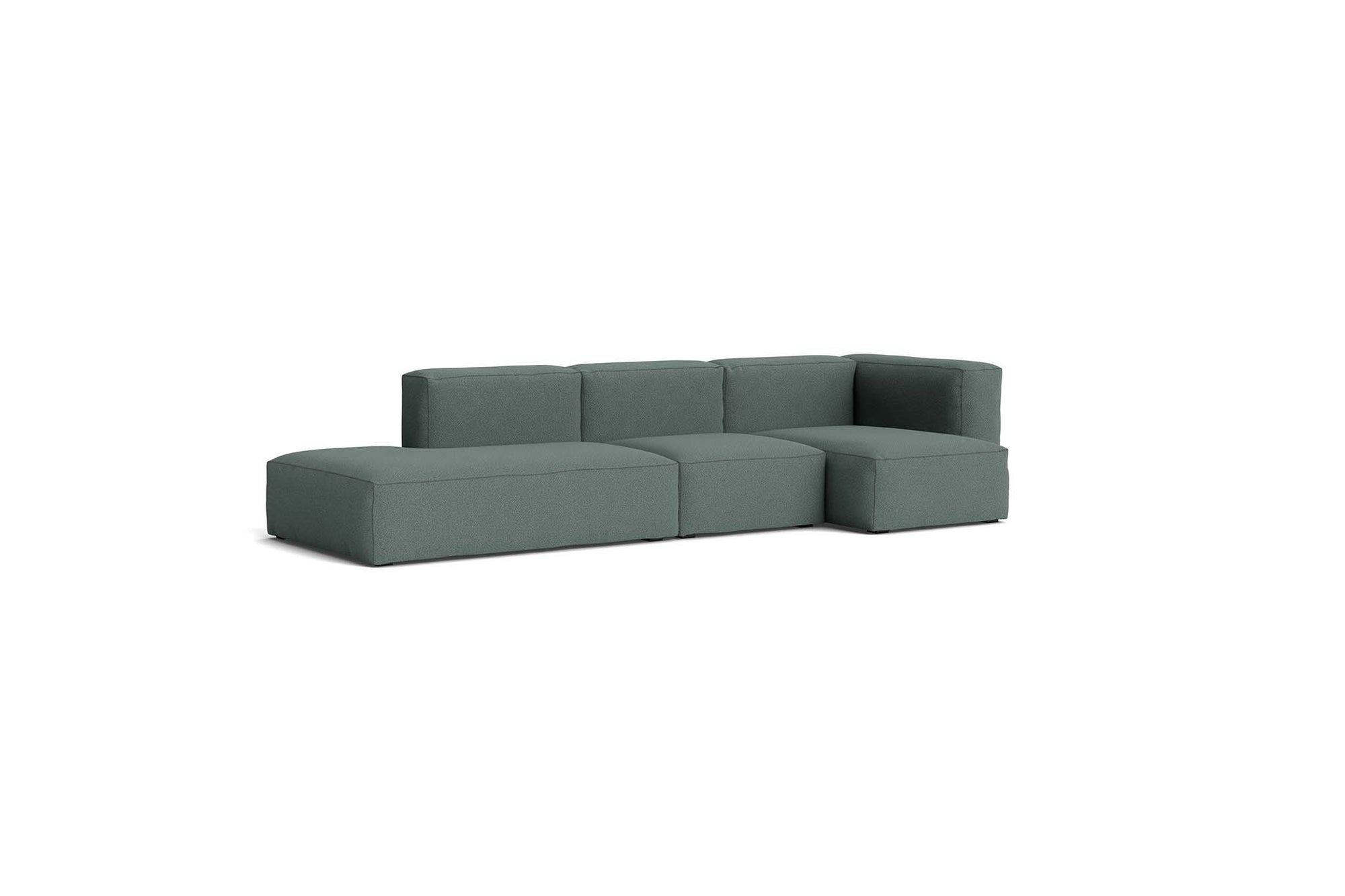 HAY - Mags Soft Sofa - 3 Seater - Combination 3 with Right Armrest