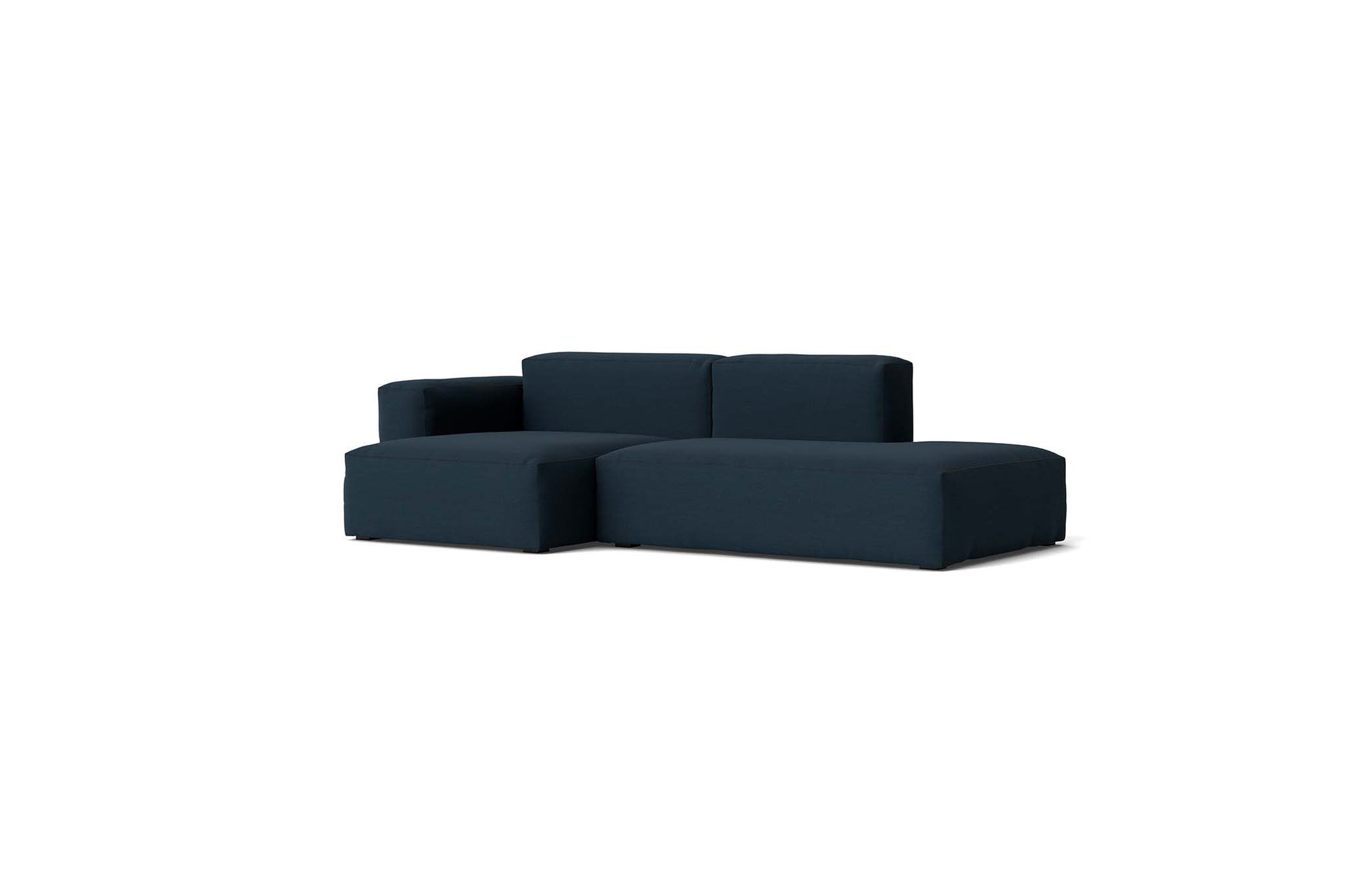 HAY - Mags Soft Low Sofa - 2.5 Seater - Combination 3 with Left Low Armrest