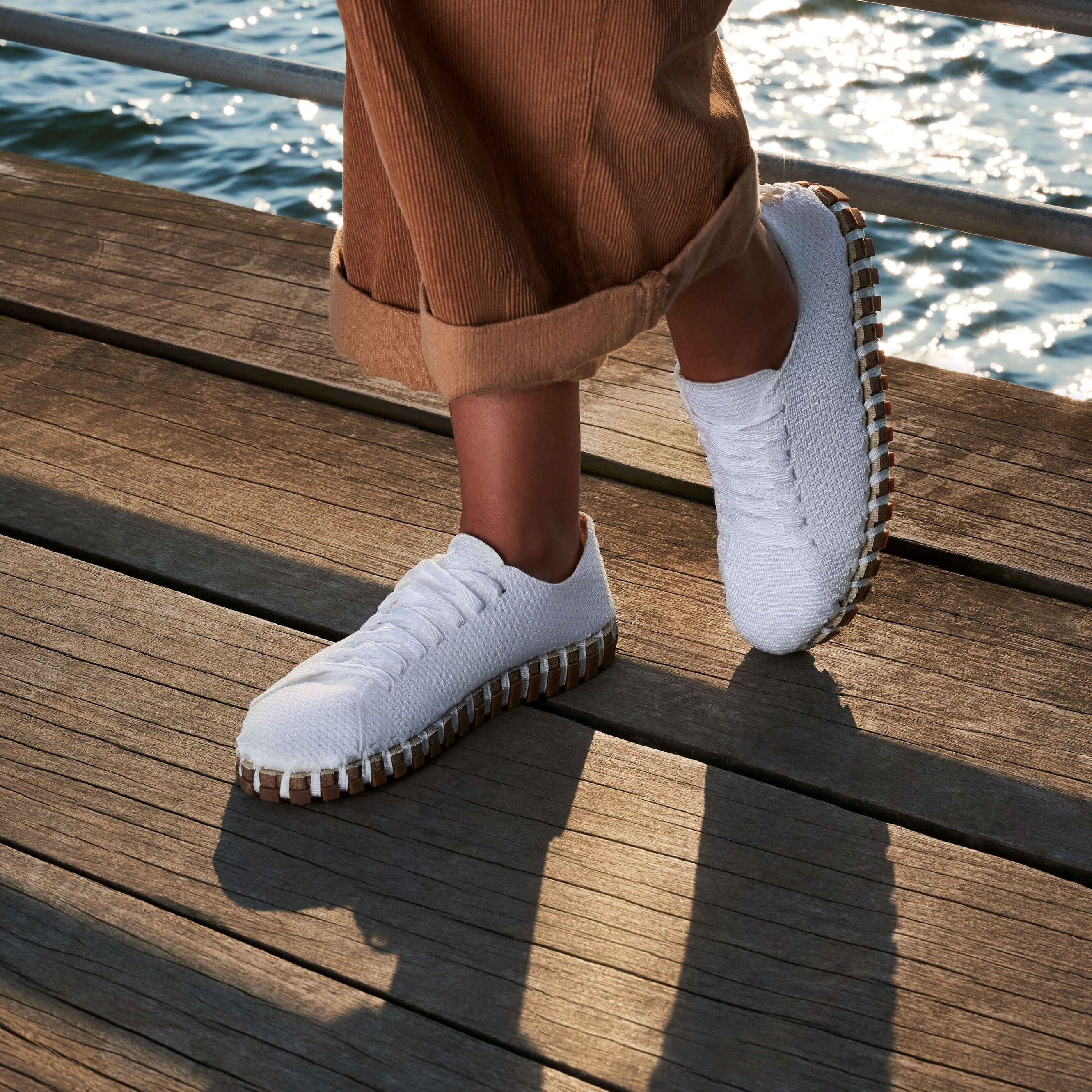 Women's Lace‑Up - White