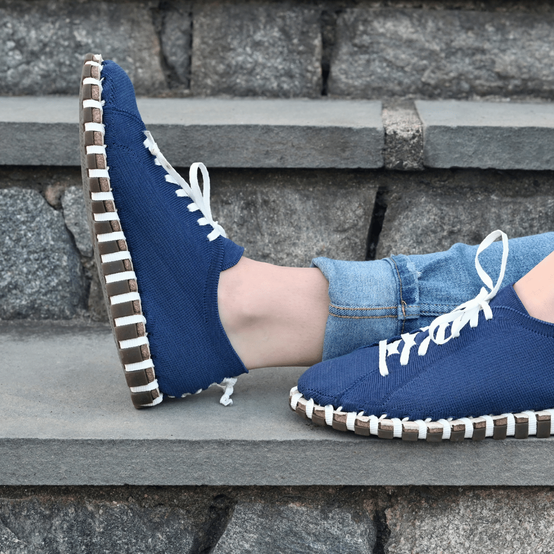 Women's Lace‑Up - Navy