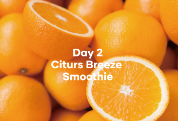 Day 2 Citrus Breeze Smoothie