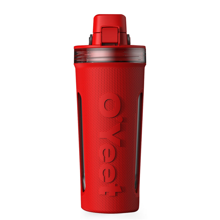 OYeet Shaker Bottle - Coral Red