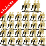 100pcs/lot Battle Droid Figure Model Set Building Blocks kits Brick Toys for Children