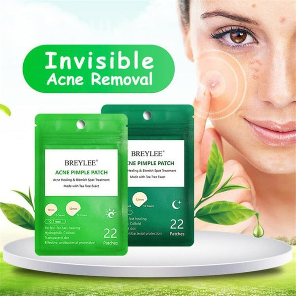22 Patches Acne Pimple Patch Acne Treatment Stickers Pimple Remover Tool Blemish Spot Skin Care Acne Remover