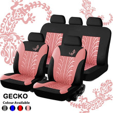 Load image into Gallery viewer, Universal 9pcs Full Set Gecko Car Cover Automobile Interior Accessories Fashion Car Seat Cover