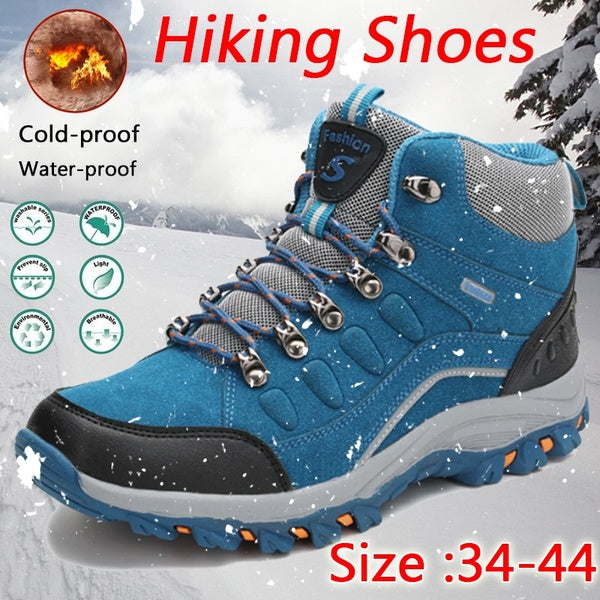 New Four Seasons Hiking Shoes for Men and Women Adults Outdoor Athletics Male Sneakers Breathable Trekking Mountain Sports Climbing Shoes