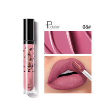 Load image into Gallery viewer, Pudaier 12 Colors Waterproof Lip Glaze Matte Velvet Long Lasting Lip Gloss Do Not Fade Liquid Lipstick Sexy Women Makeup Tools