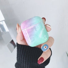 Load image into Gallery viewer, PC Marble Textured Earphone Case for AirPods 1/2 for Apple Airpods 1/2 Charging Cases Skin Accessories Fashion Apple Airpods Cases Anti-Scratch Anti-Fouling