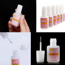 Load image into Gallery viewer, 1Bottle Strong Glue Adhesive False Nail With Brush for Nail Art Fake Acrylic False Tips Decoration