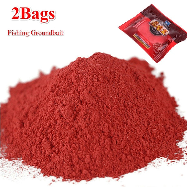 2 Bags Hot Flavours Lure Boillie additive Fishing Groundbait  Fishing Bait Making Scent Additive Carp Musk Flavor