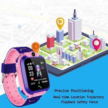 Load image into Gallery viewer, 2019 The New Waterproof Kids Smart Watch Children Sport GPS Tracker Bracelet Phone SOS Call For IOS Android IP67