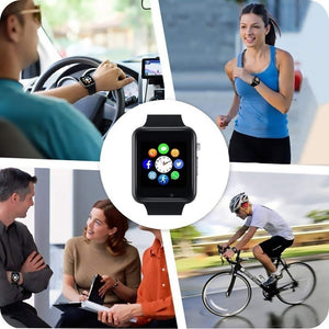 Wrist Watch Bluetooth Smart Watch Sport Pedometer With SIM Camera Smartwatch Phone Watch