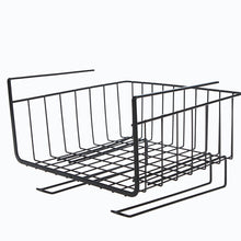 Load image into Gallery viewer, Kitchen Storage Bin Under Shelf Wire Rack Cabinet Basket Organizer Holder Stand