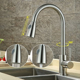 Kitchen Pull Out Faucet Sink Swivel Tap