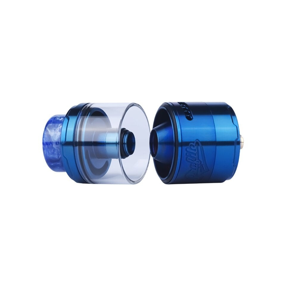 2019 Newest Profile Unity RTA Leakproof Mesh RTA vape tank atomizer with Mesh Wire Mesh Coil 510 thread 810 resin drip tip
