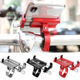 Motorcycle Bike Handlebar Mount Aluminum Alloy Phone GPS Bracket Holder