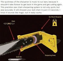 Load image into Gallery viewer, 4/6pcsGrindstone OR 1PC Sharpene Woodworking Special Chain Saw Sharpener Sharpening Frame Grinding Chain Fast Grinding Chain Tool