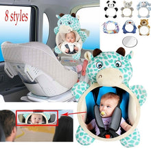 Load image into Gallery viewer, OWILL Baby Car Mirror Car Safety View Back Seat Mirror for Baby car seat kid Car Seat baby safety seat
