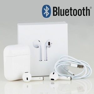 Wireless Bluetooth Headphones Stereo In Ear Mini Earbuds Sport Earphones with Charging Box