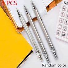 Load image into Gallery viewer, 3PCS 0.7mm Iron Metal Mechanical Automatic Pencil Drawing Writing School Supply Gift