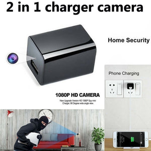 Phone Charger Spy Camera HD 1080P Hidden Camera USB Wall Charger Camera Video Recorder Home Security