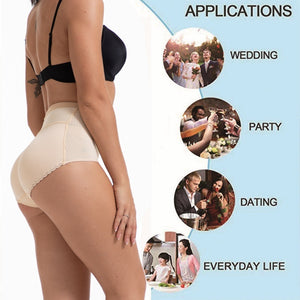 Womens Seamless Butt Lifter Padded Panties Enhancer Underwear